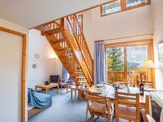 Apartment 4 bedrooms for up to 8 PAX Ski in with a private parking place