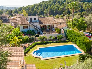 Beautiful Mallorcan house with private pool in the Serra de Tramuntana.