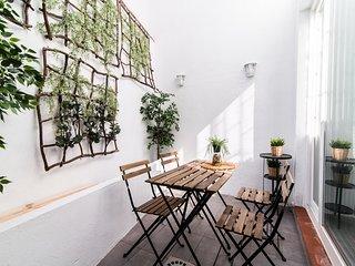 #NSD9-1 Apartamento de un dormitorio con patio privado a estrenar