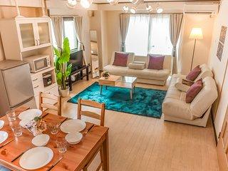 【Tennoji Room E01】2 bed rooms★Osaka Big room★Max12ppl
