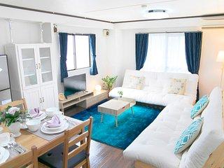 【Tennoji Room F01】2 bed rooms★Osaka Big room★Max12ppl