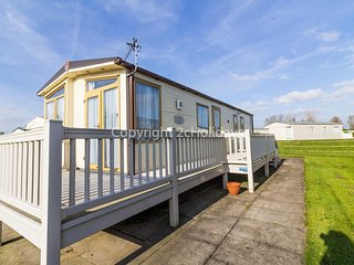 6 berth caravan for hire with decking Southview Holiday park Skegness ref 33183