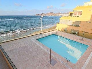 Genial apartamento con vistas a la playa de Las Canteras