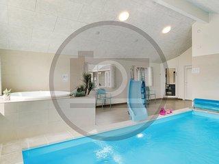 Beautiful home in Hvide Sande w/ Indoor swimming pool, Sauna and 7 Bedrooms (P62