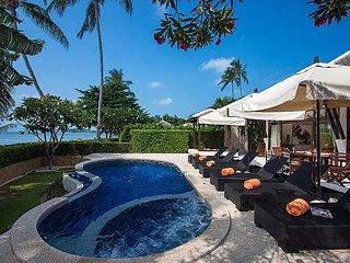 Blossom Dew Villa D | 3 Bed Beachside Pool Villa Koh Samui