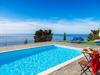 Ble on Blue Apartment with pool, close to the beach in Athani, Lefkada