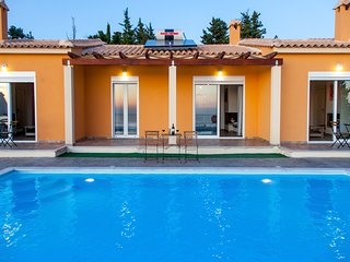 Lovely Ble on Blue Studio1 with pool & endless Ionian seaview In Athani, Lefkada