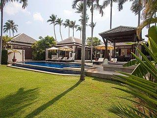 Blossom Dew Villa C | 3 Bed Sea View Pool Villa in Samui