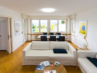 Sunny & quiet apartment in Zurich, 3br, 100m2
