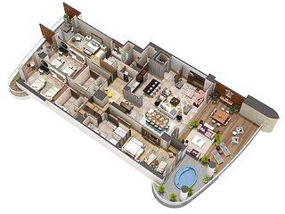 Grand Luxxe 4 Bedroom Villa