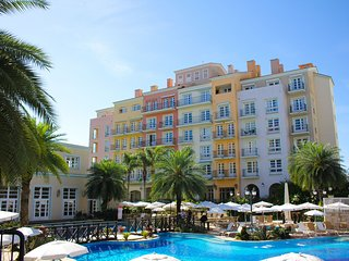 Studio luxo vista piscina em Resort Jurere ILC1206