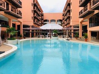 Estudio Vista Mar em Resort Pé Na Areia JBV455