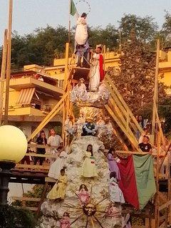 Manifes. Culturale/religiosa del carro votivo della VARIA patrim. Immateriale dell'umanità (UNESCO)