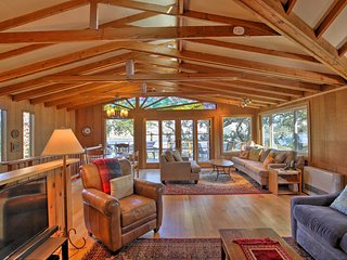 Hillside Home w/ Deck & Views of Tomales Bay!