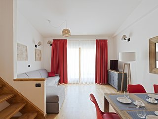 Castore  - Lovely& bright flat, complex with spa/fitness
