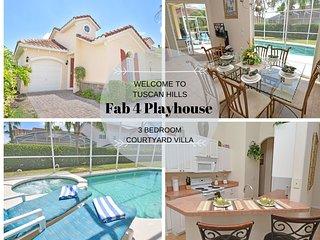 T159BD -Fab 4 Playhouse (B)