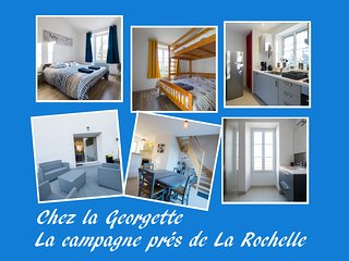 Chez la Georgette (3 épis), la campagne près de La Rochelle