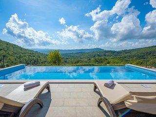 Beautiful home in Labin w/ Outdoor swimming pool, WiFi and 3 Bedrooms (CIO250)