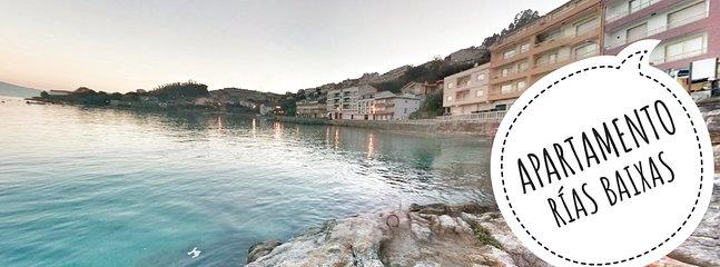 Apartamento Rías Baixas está junto al mar y enfrente de la playa