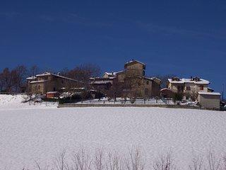 L'Inverno nella Casa di Sasso nel Borgo