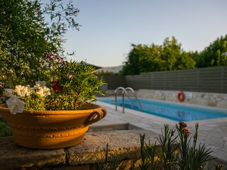 Villa Rouga traditional cretan cottage with pool