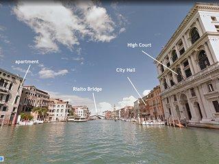 GRITTI • 6 WINDOWS! RIALTO GRAND CANAL PANORAMA VIEW, Aircond, Wifi