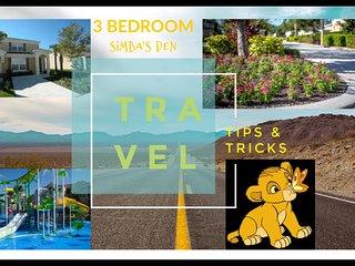 Simba' Den Retreat 3/3 Bath Town House