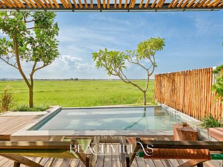 Peaceful Pool Villa In Rice Paddies