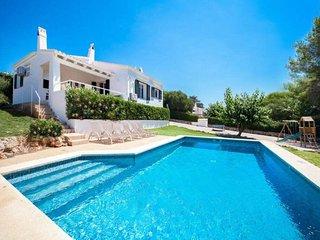 VILLA BINI BELIN - Ideal for families, fenced pool, near Binibeca Beach