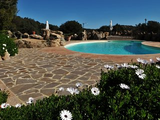 Villa Bonaria with private pool, sleeping up to 12, North Sardinia