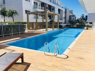 Apt estrutura de clube churrasq piscina 5 min da praia