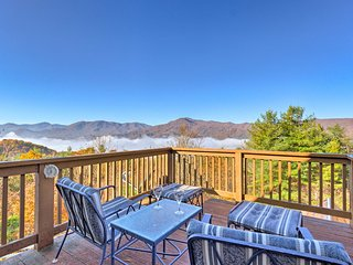 20-Acre Waynesville Estate w/Game Room & Mtn Views