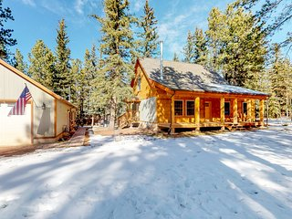 Tree-lined cabin & studio w/ firepit & grill - close to shops/restaurants!