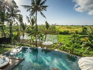 SPECIAL PROMO -40%,, Majestic Private Villa, 6 BR, Canggu w/ staff