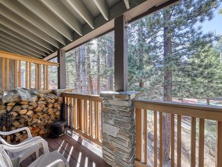 Ski-in/ski-out condo w/ shared pools, sauna, fitness room, tennis, & badminton