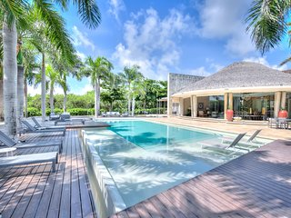 State-of-the-art Villa w/ individual bedroom cottages in Puntacana Resort & Club