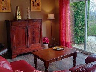 Villa Rosa Maison de vacances spacieuse, environs calme, piscine privée chauffée
