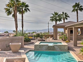 High-End Havasu House w/ Luxurious Outdoor Oasis!