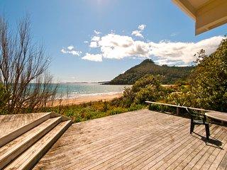 Absolute Beachfront Kuaotunu - Kuaotunu Holiday Home