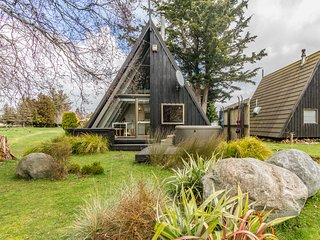Two Tui with Spa - Ohakune Holiday Home