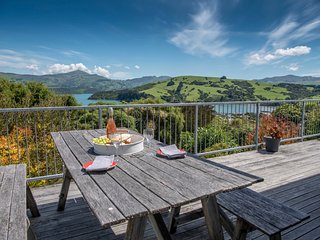 French Bay Views - Akaroa Holiday Home