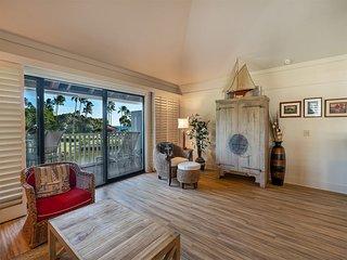 Open 2-Level Rental w/Super View, Kitchen Ease, WiFi, Lanai–Kiahuna Plantation