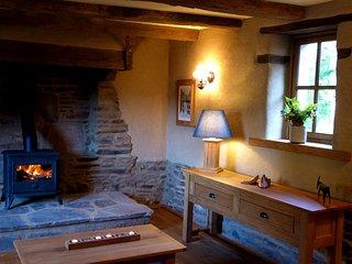 Le Fournil at Le Pas Cru' luxury cottage Brittany near Le Mont Saint Michel