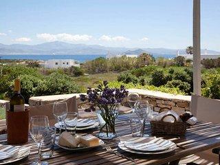 Kallisti Myrtia  . Idyllic Holiday Villa - Views, Garden, nr Beach