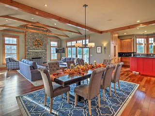 Luxe Countryside Smart Home; 14 Mi to Bromley Mtn!