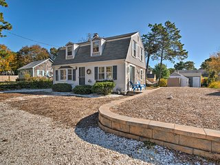 NEW! Cute Cape Cod Home - Walk to Private Beach!