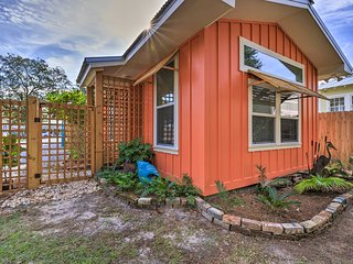 NEW! Walk to Beach from Chic Old Town Apt w/ Yard!