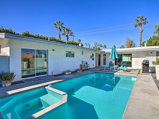 NEW! Mid-Century Modern Oasis, 1 Mile to El Paseo!