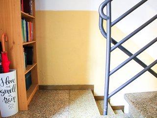 Dettagli del vano scale.
