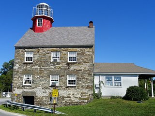 Iconic 1838 Salmon River Lighthouse